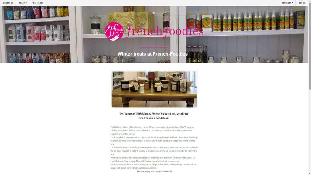 french-foodies-email-marketing-infolettre-par-e-novweb