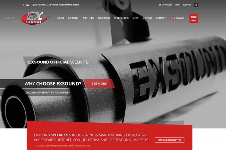 Exsound par E-novweb