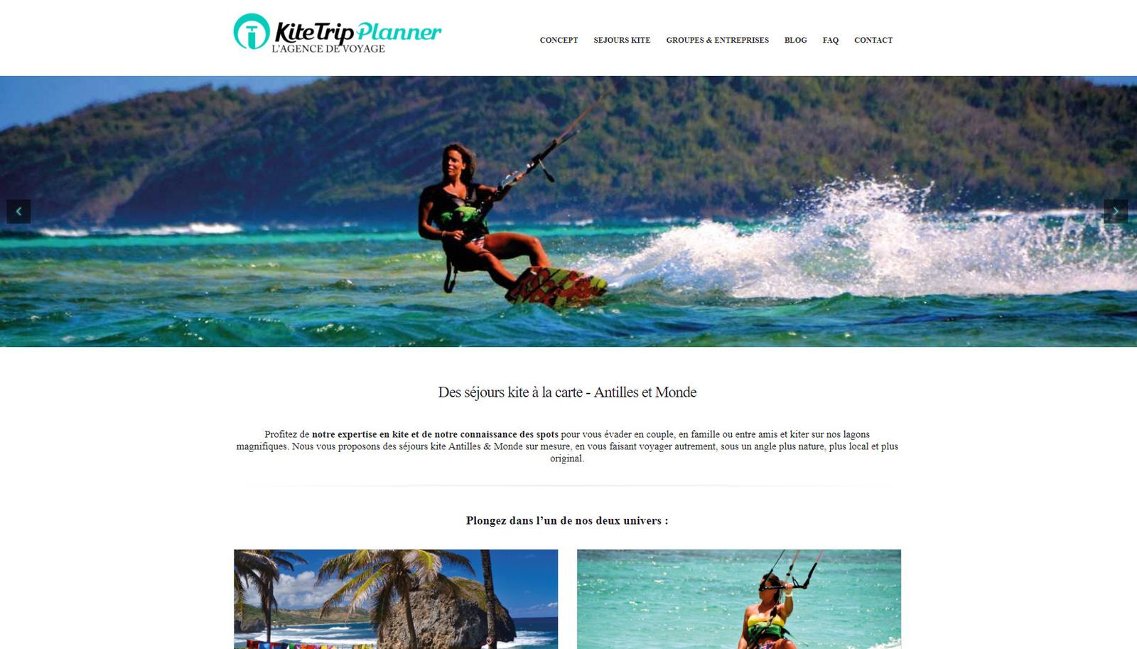 KiteTrip Planner pour les pros