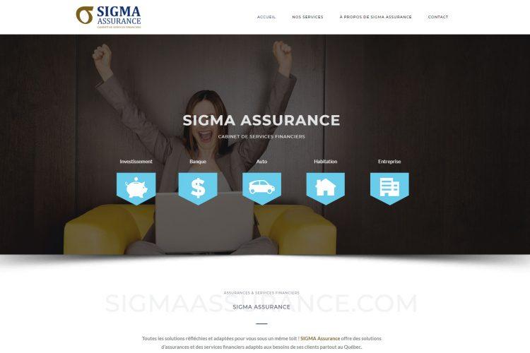 Sigma Assurance par E-novweb